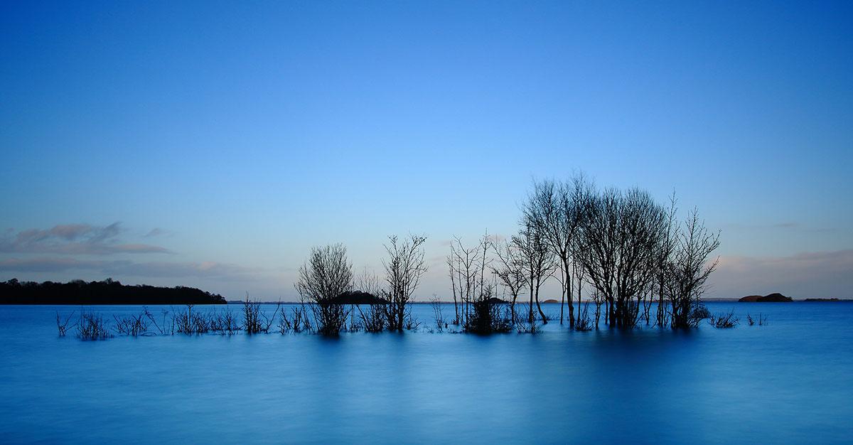 winter water levels lough corrib