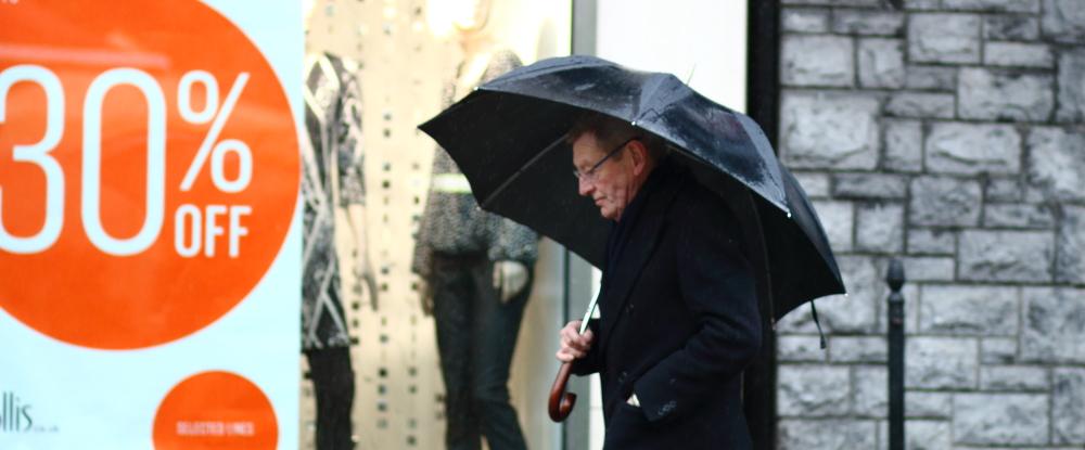 Galway, street style, galway fashion, rain