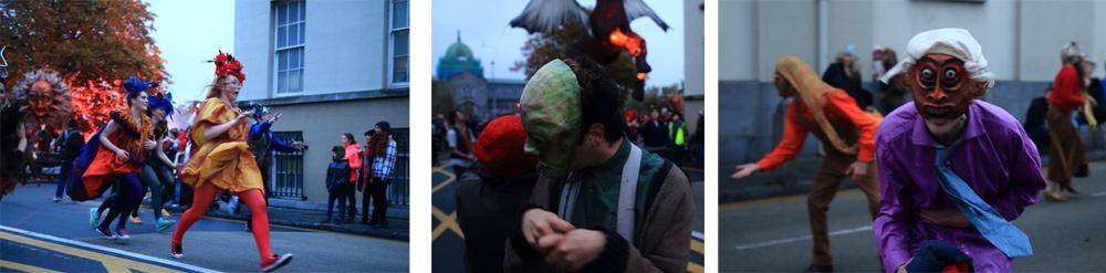 Macnas Parade 2014, Galway