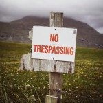 Short Story: NO TRESPASSING