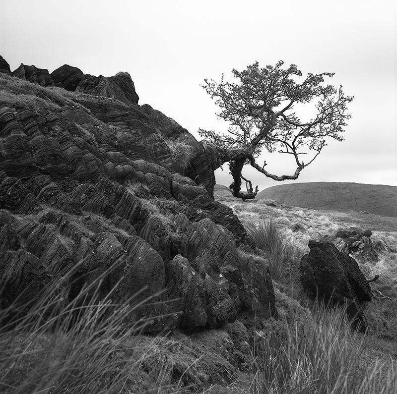 donal kelly photo mamean valley connemara ireland black and white