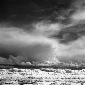 Atlantic waves on Inisheer/Inisoirr, Aran Islands, black and white photography, DOnal Kelly